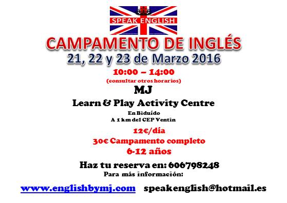 English Camp Easter 2016 panoramico